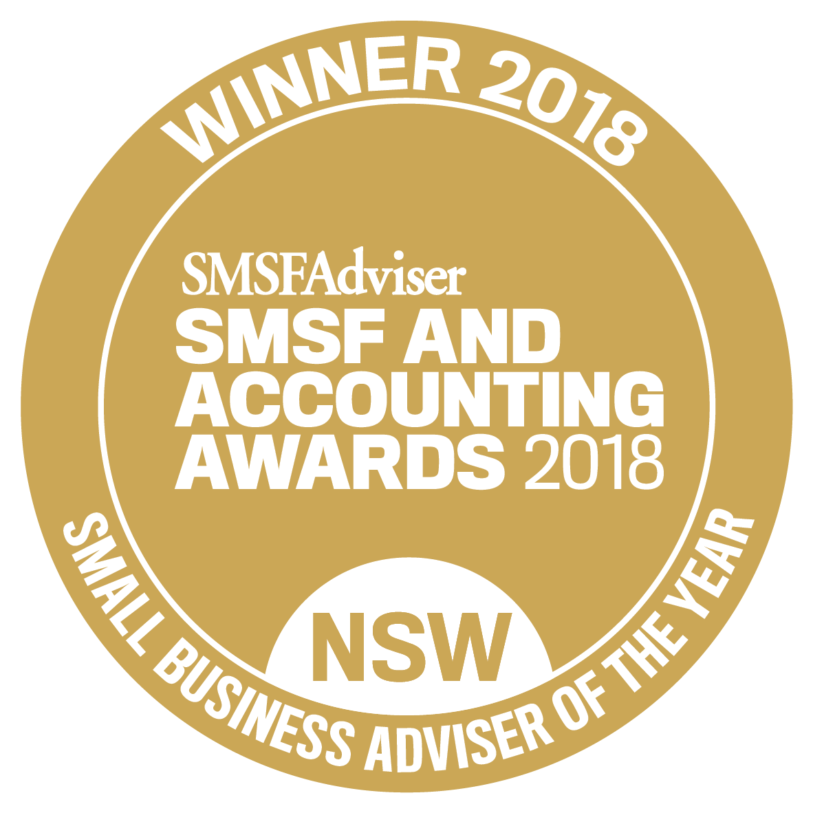 2018 Small Business Adviser of the Year